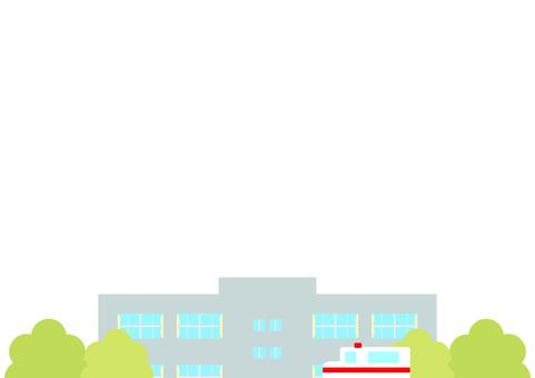 병원 구급차