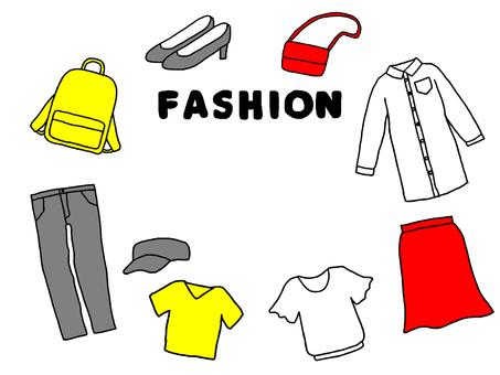 レディースファッション枠(シンプル)