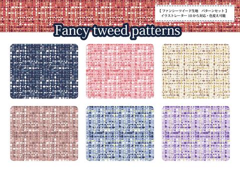 Fancy tweed pattern