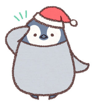 Penguin Penguin Hina Santa