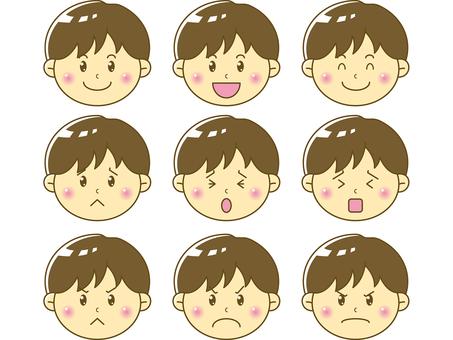 Child / boy face 03