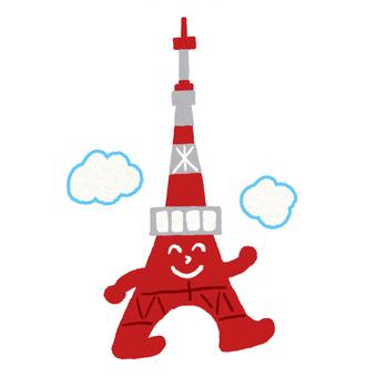 Tokyo Tower to take a walk
