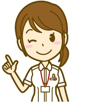 Female (nurse): A_ point 01BS