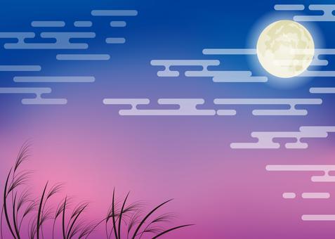 Fifteen nights background, A4 horizontal, Tufu pay
