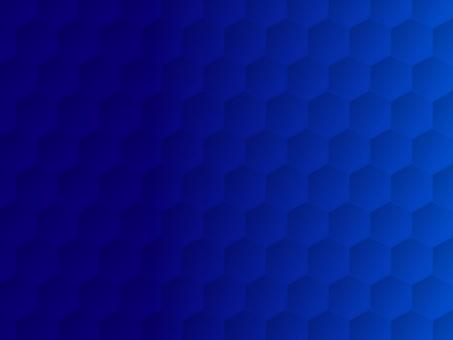 Hexagon background blue business