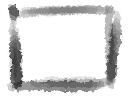 Brush square frame