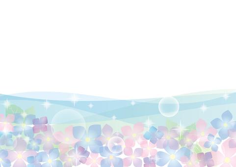 Hydrangea wave