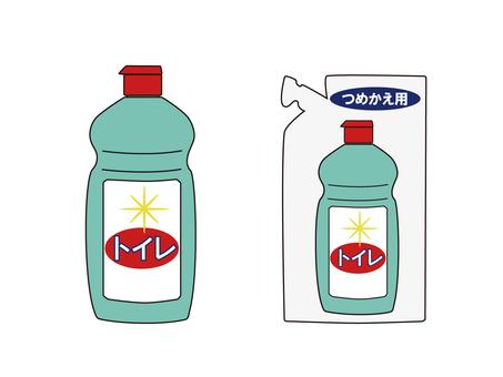 Toilet detergent