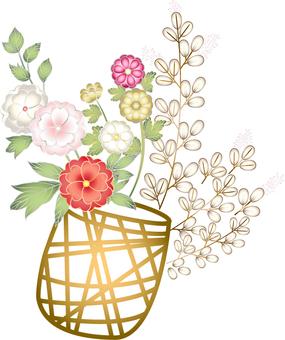 Yae-sakura's flower basket