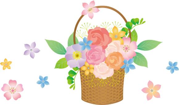 Bouquet of baskets