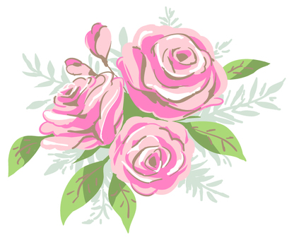 Roses (pink)