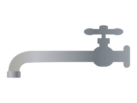 Long faucet