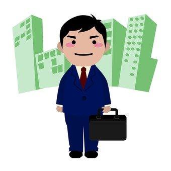 Male employee