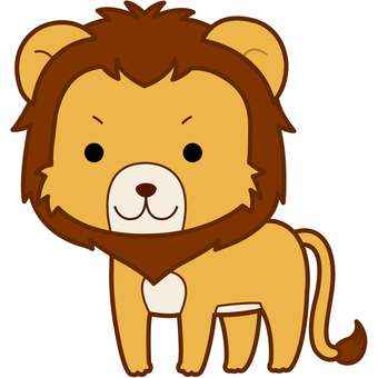 Animal Illustration-Lion
