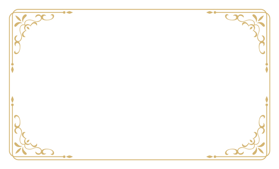 Classic Decorative Ruling 3 Business Card Size