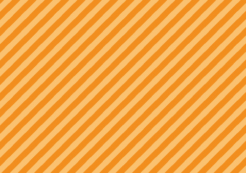 Autumn Orange ☆ diagonal striped background material