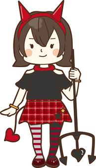 ハロウィン(小悪魔ちゃん)