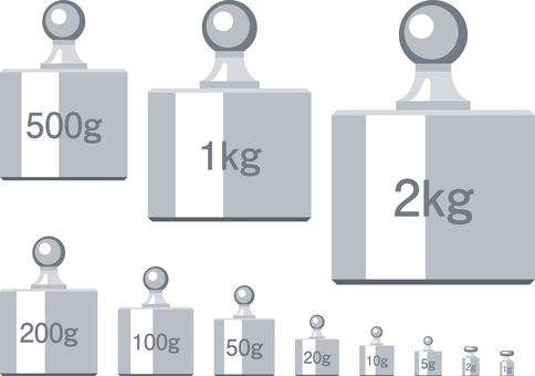 Weight icon set weight weight