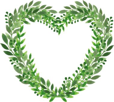 Plants_ Watercolor _ Heart