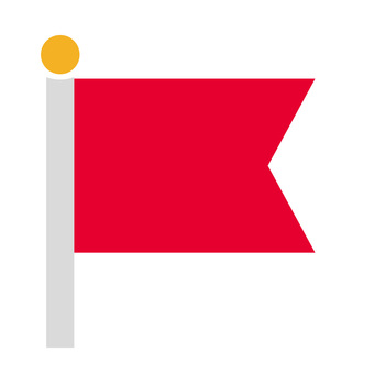 Flag (red)