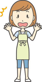 Apron youth Bob-105-whole body