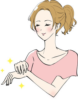 Women who hand care