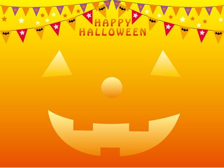 Halloween haunted pumpkin 2