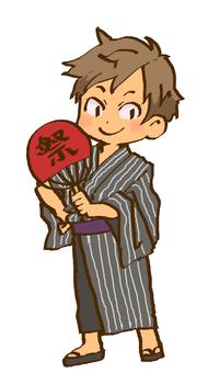 Yukata boy