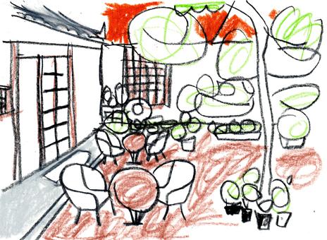 Korea · Cafe · old house