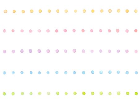 Watercolor line 1