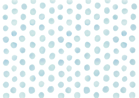 Watercolor picture Dot background Dot background (light blue)