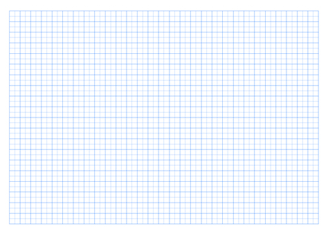 A4 size grid paper