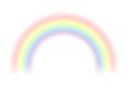 シンプルな虹1
