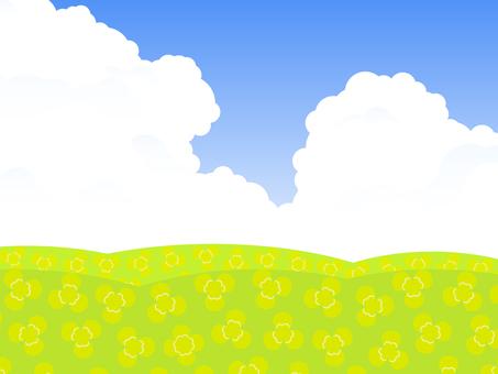 Simple grassland clover