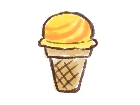 Crayon series [ice / mango]
