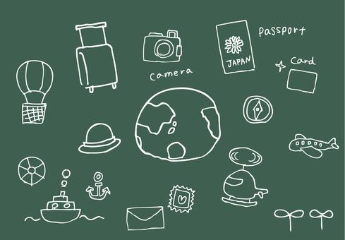旅行圖標&小工具