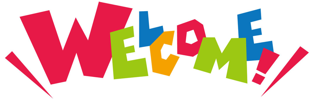 Welcome! WELCOME ☆ logo ☆