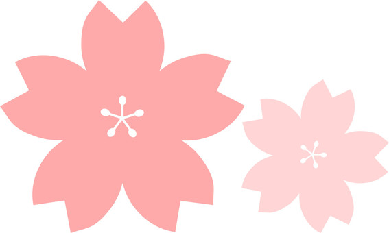 Cute cherry blossoms (simple)