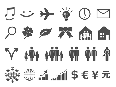 Icon Set - Family · Business