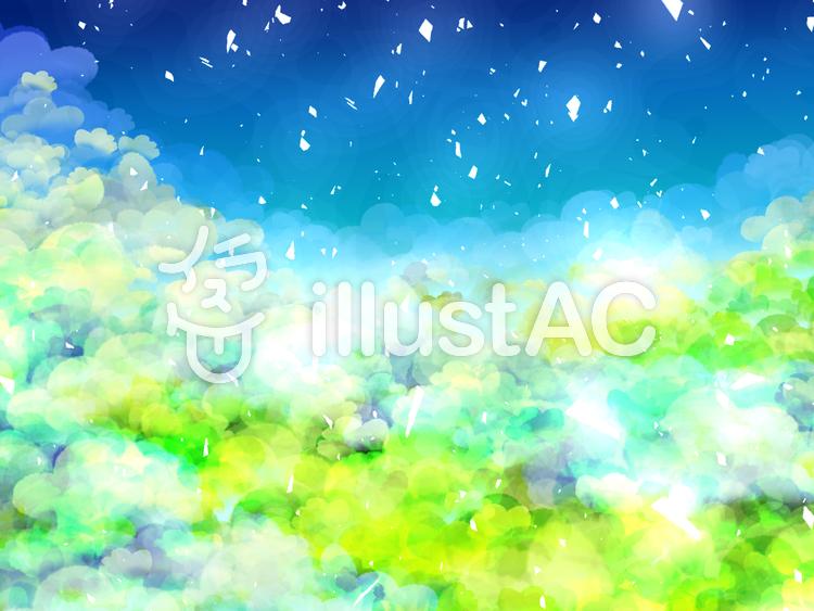 幻想的な背景イラスト No 487010無料イラストならイラストac