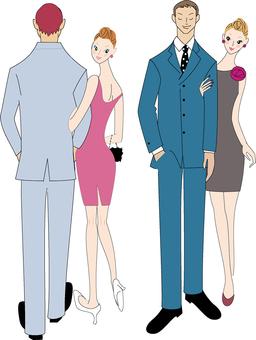 Adult men and women