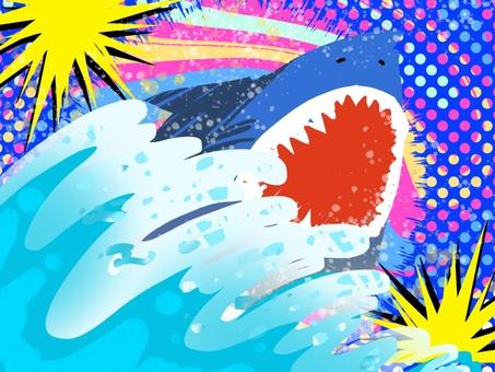 波 サメ 危険