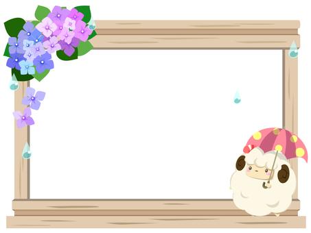 Sheep's frame 6