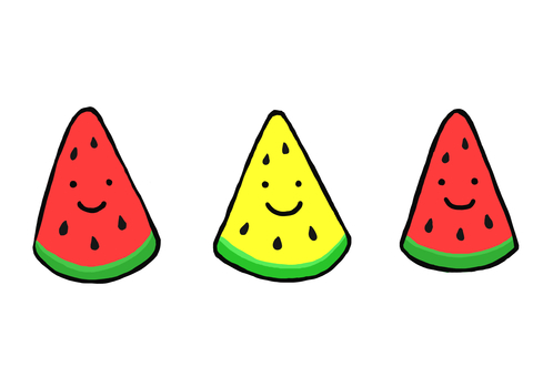 Three watermelons 2