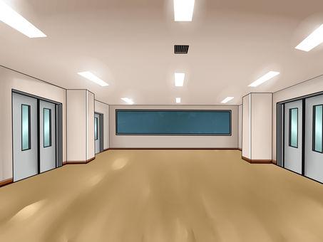 Background Broad classroom (multipurpose room)