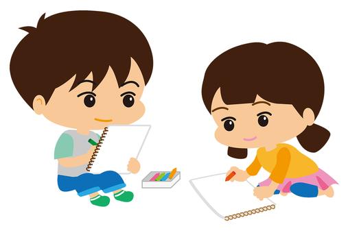 Children who draw