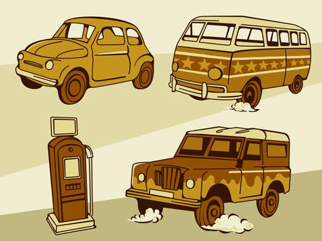 Retro car