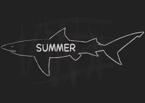 여름 칠판