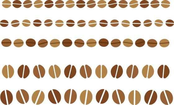 커피 콩 라인
