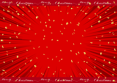 Christmas confetti background